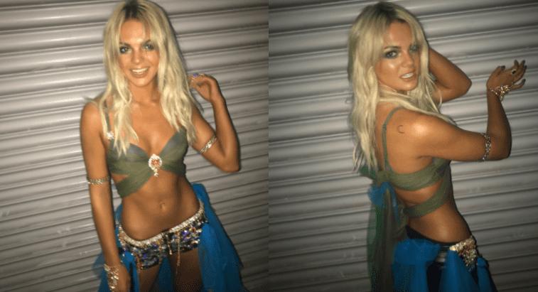 Louisa Johnson X Factor Halloween 2017