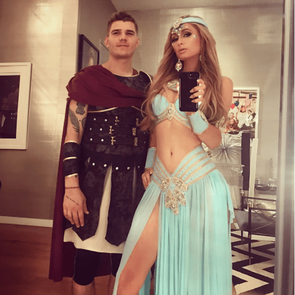 Pairs Hilton Jasmine Disney Princess Aladdin Halloween 2017