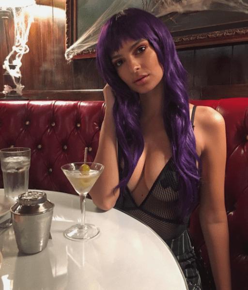 Em Rata Emily ratajkowski model actress halloween 2017