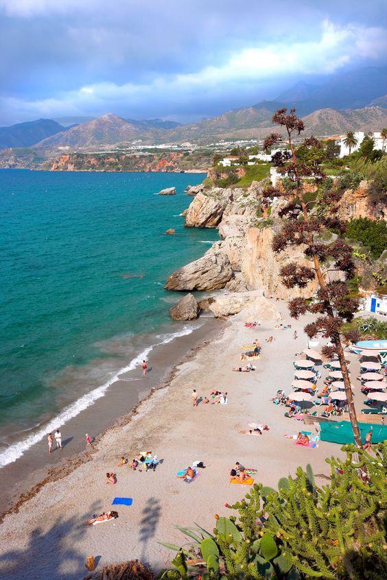 Malaga's sandy shores are a popular tourist attraction
