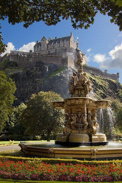 Regal Edinburgh Castle sits high upon a hill