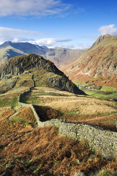 Stunning scenery in the Lake District National Park