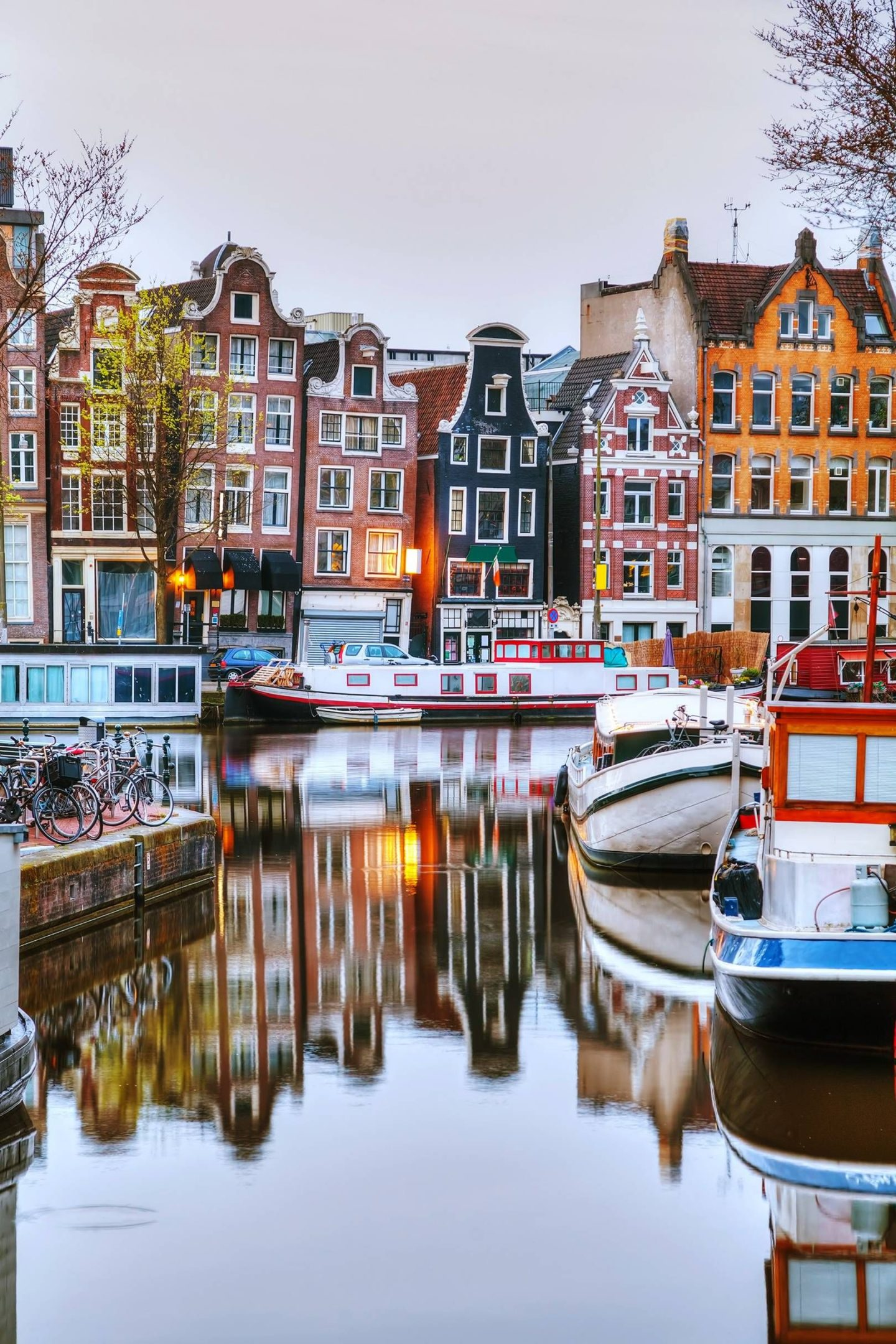 Amsterdams colourful canals make this a city worthy of an instagram post or two