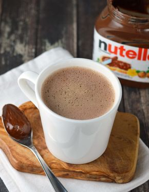 How To Make A Nutella Latte   EGO SHOES
