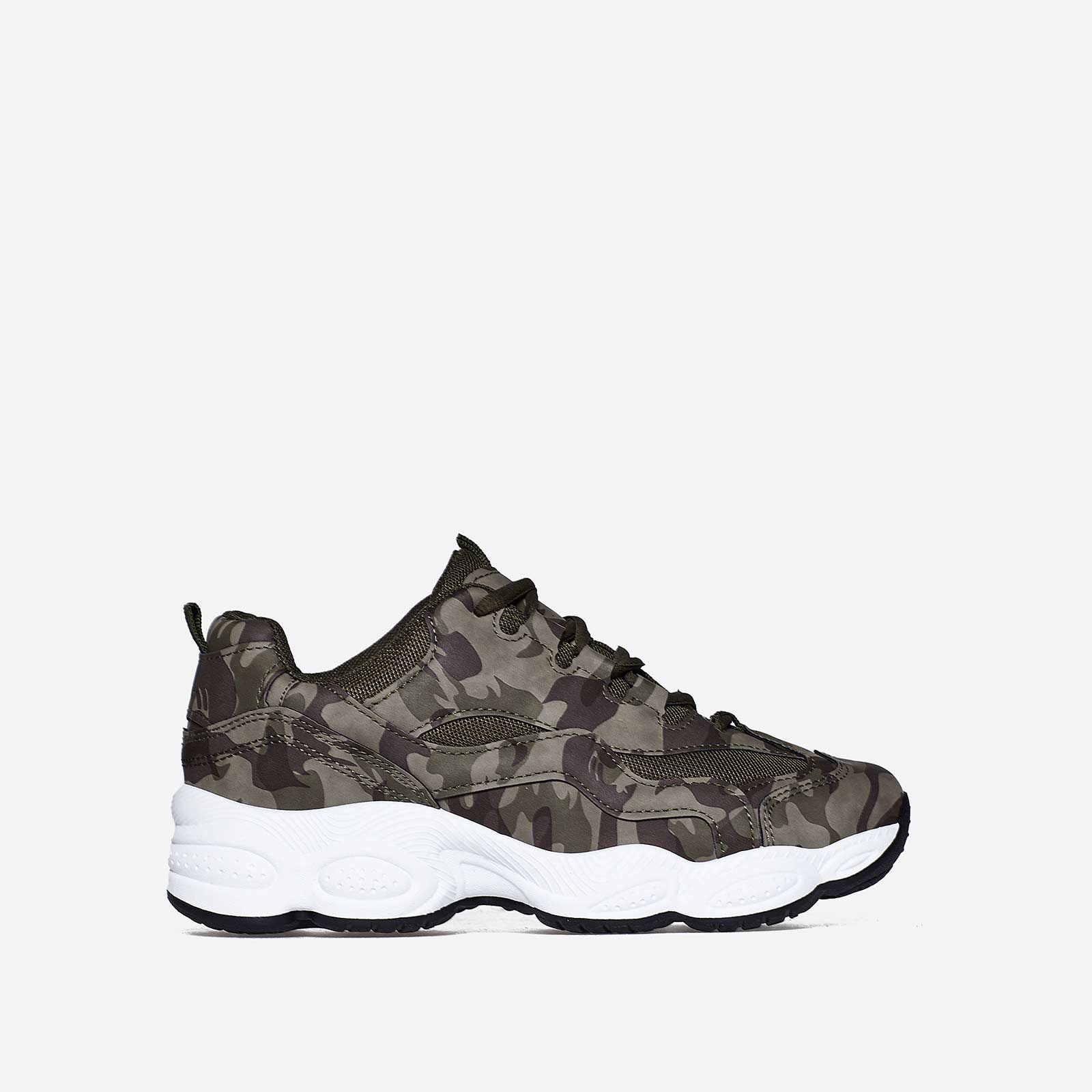 Kim Chunky Trainer In Camouflage