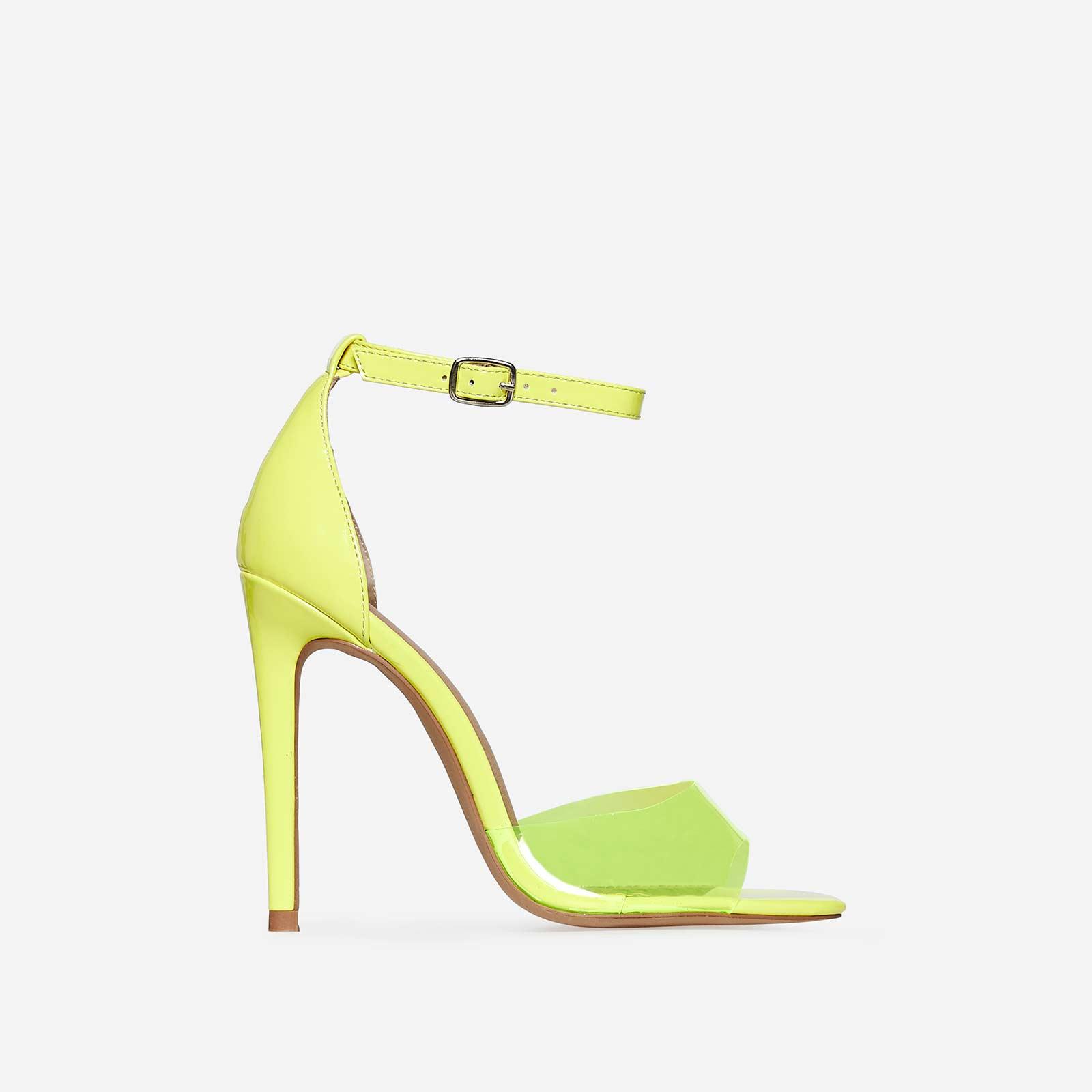 EGOKAIA - High heeled sandals - yellow 8Wa5zC4