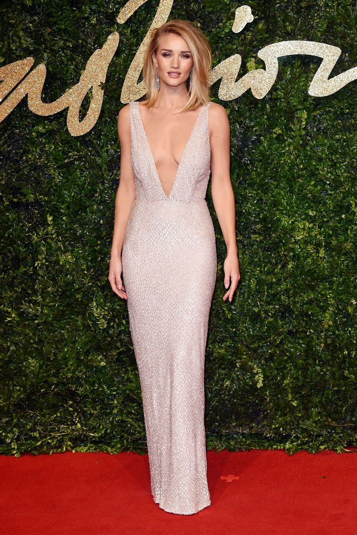 Rosie Huntington Whitely looking amazing at BFA