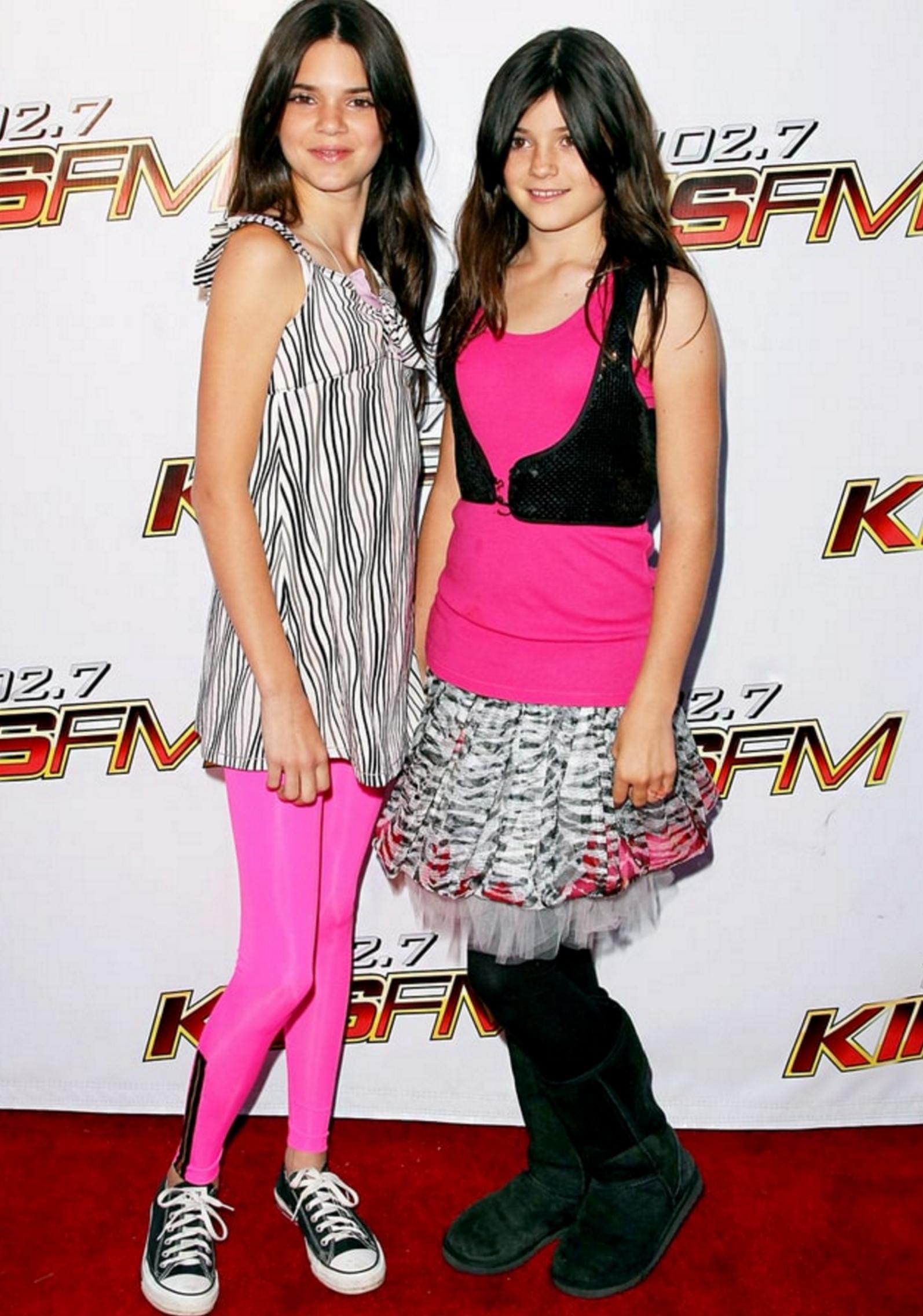 Kylie Jenner 2008 Dress Style