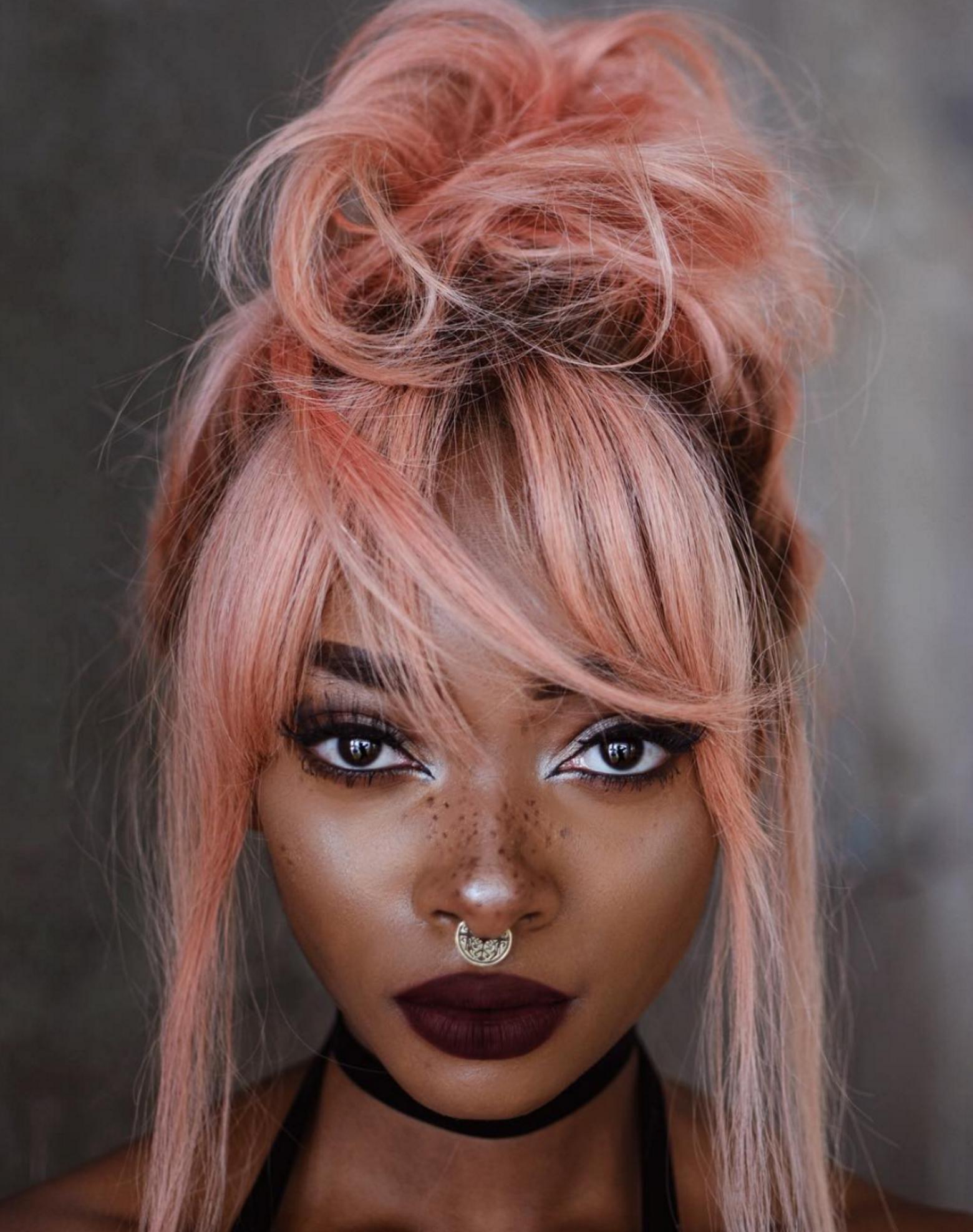 See Nyane Lebajoa's Summery Freckle Makeup Look