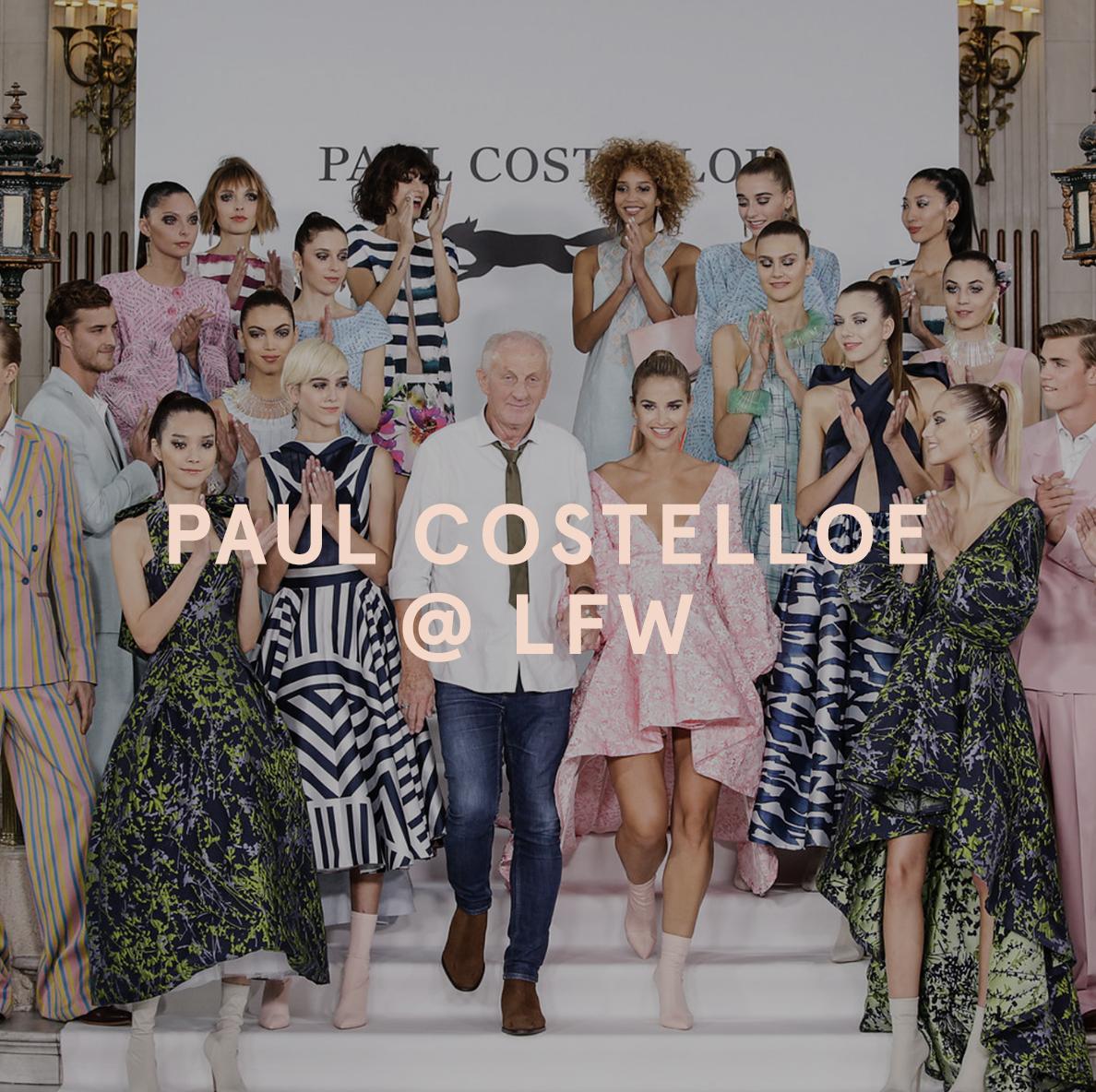 LFW Paul Costelloe Ego Shoes