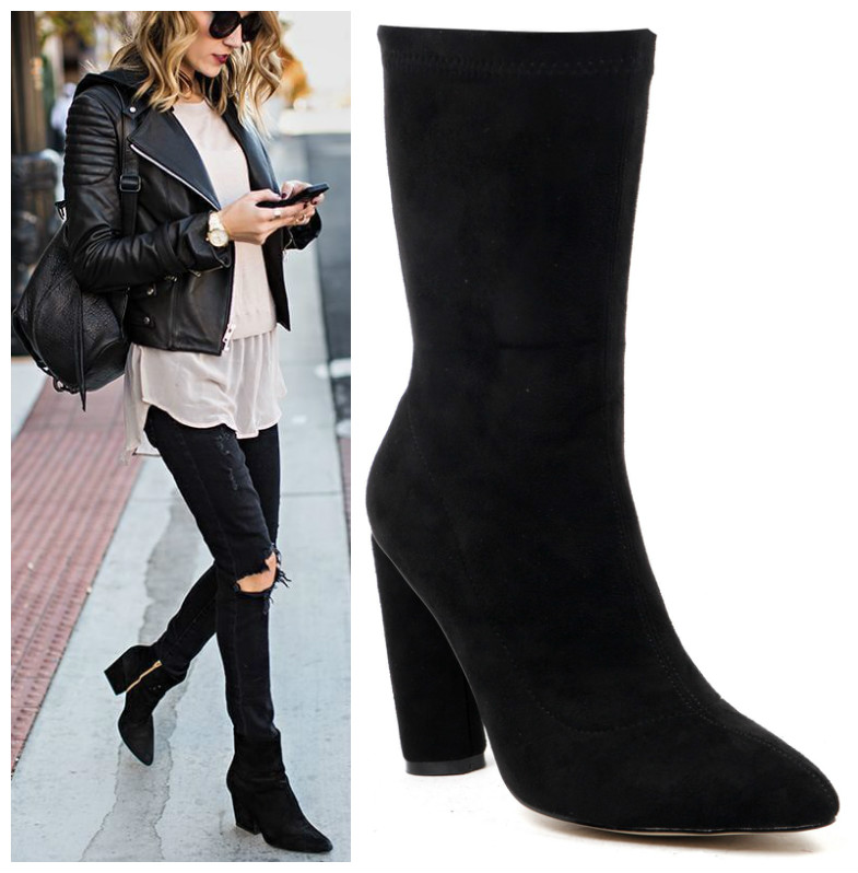 Leather styling with Zina boots