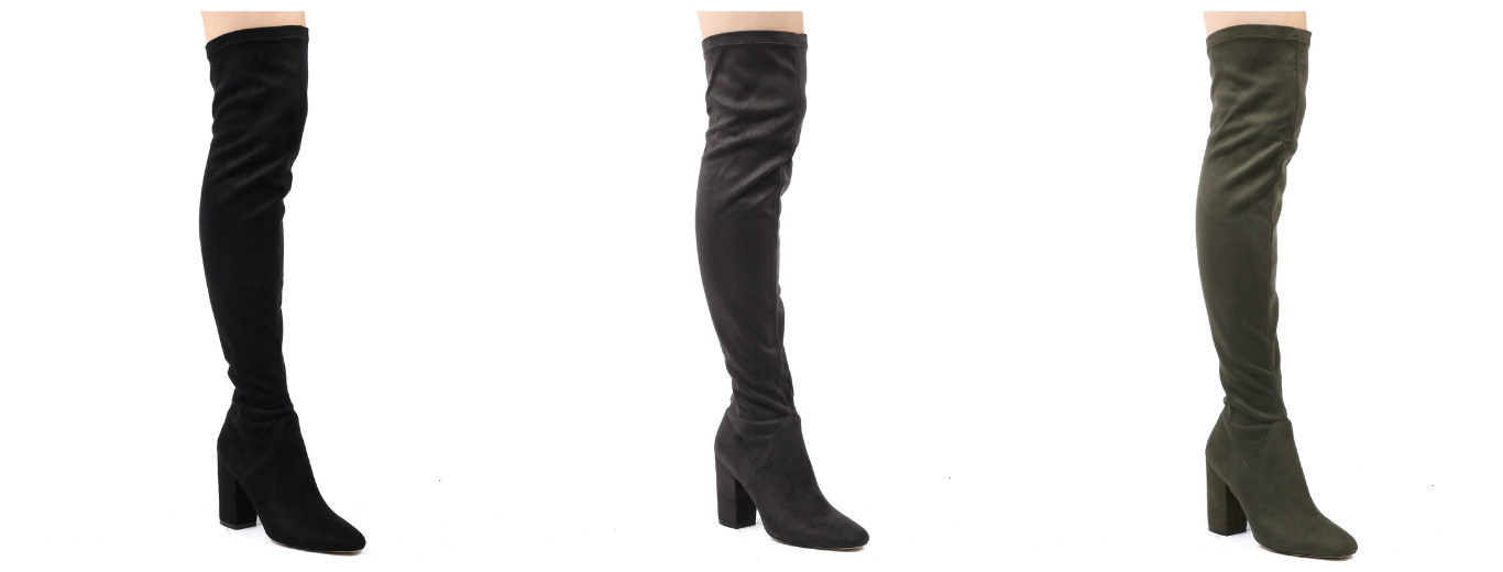 The new ultra high boot 'Olivia'. Fierce in look and sassy in style, this is the knee high for the fashionista in you