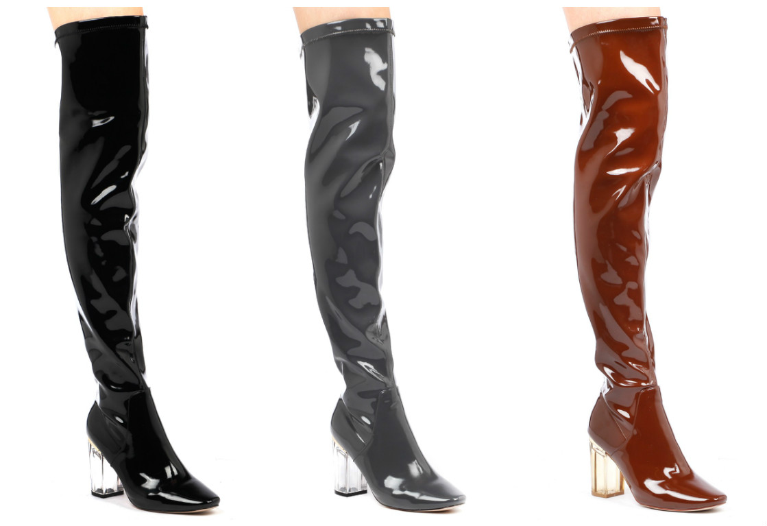 The Patent Parkers, Even more added sass to keep you feelin' like a fierce fashionista