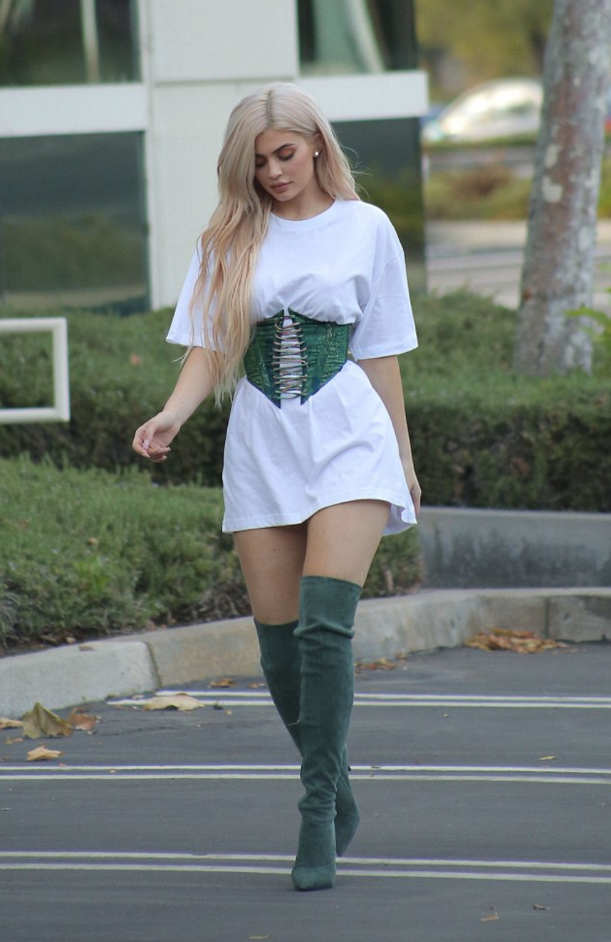 bdeeeabbbf0 Kylie Jenner Get The Look Green Poppy Boot EGO