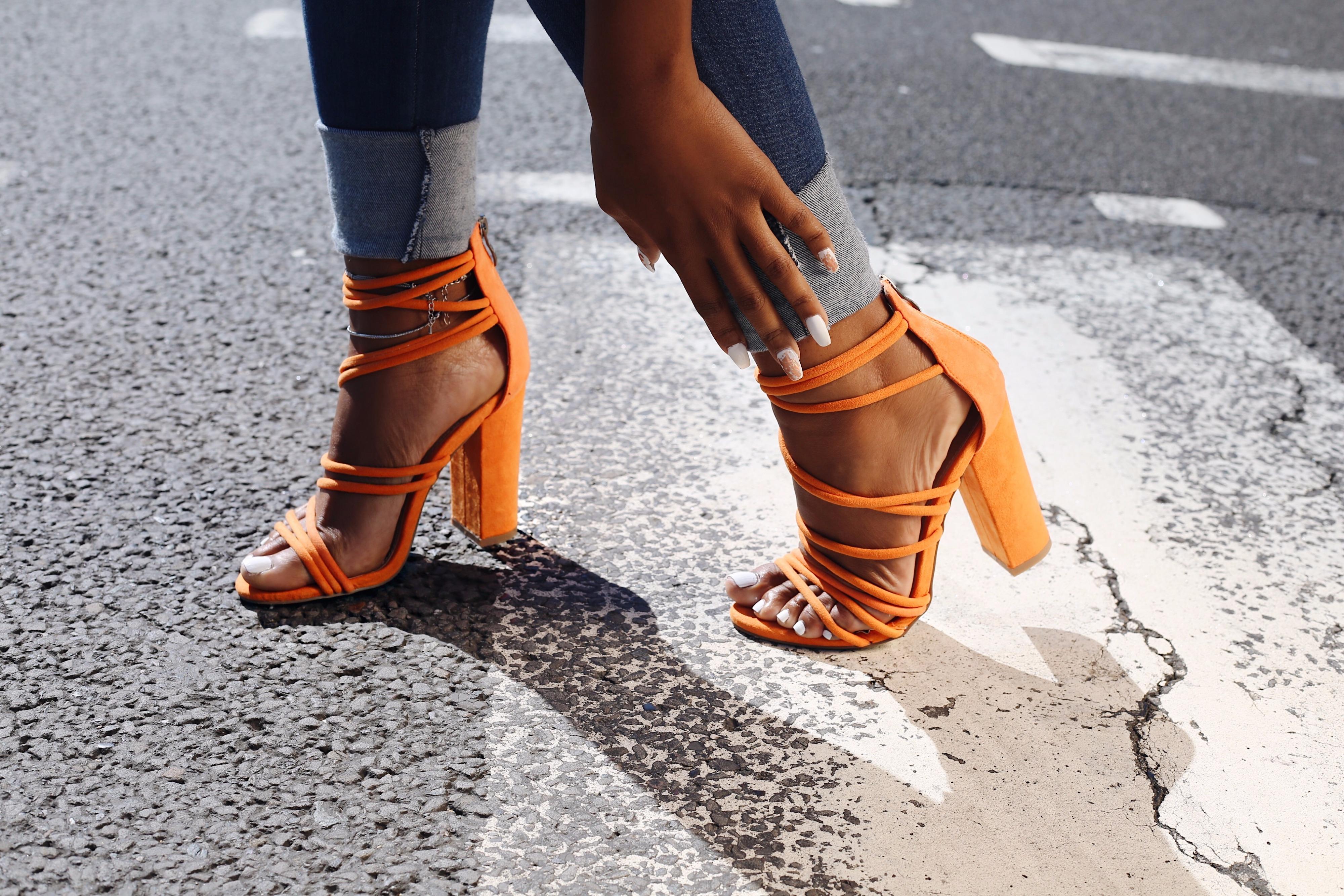 Kingsley Strappy Block Heel