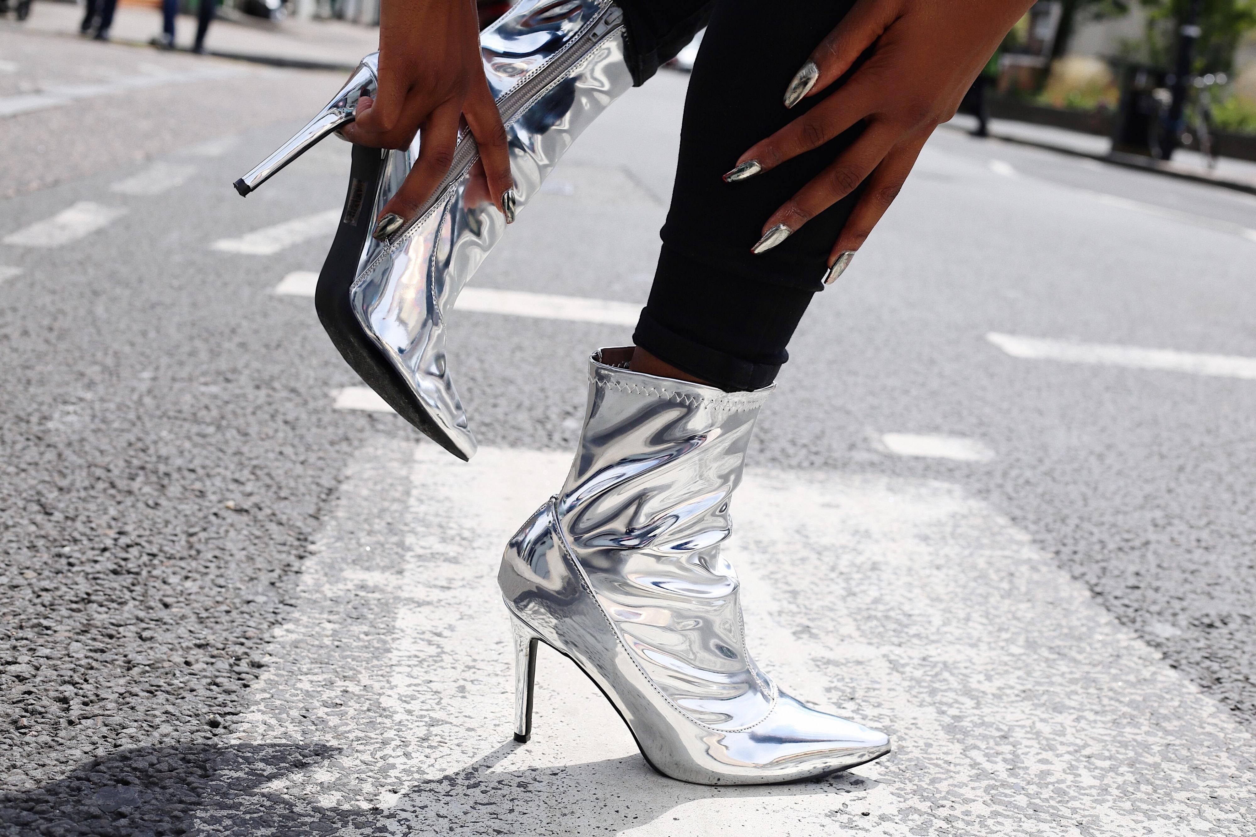 Hadley Metallic Boot