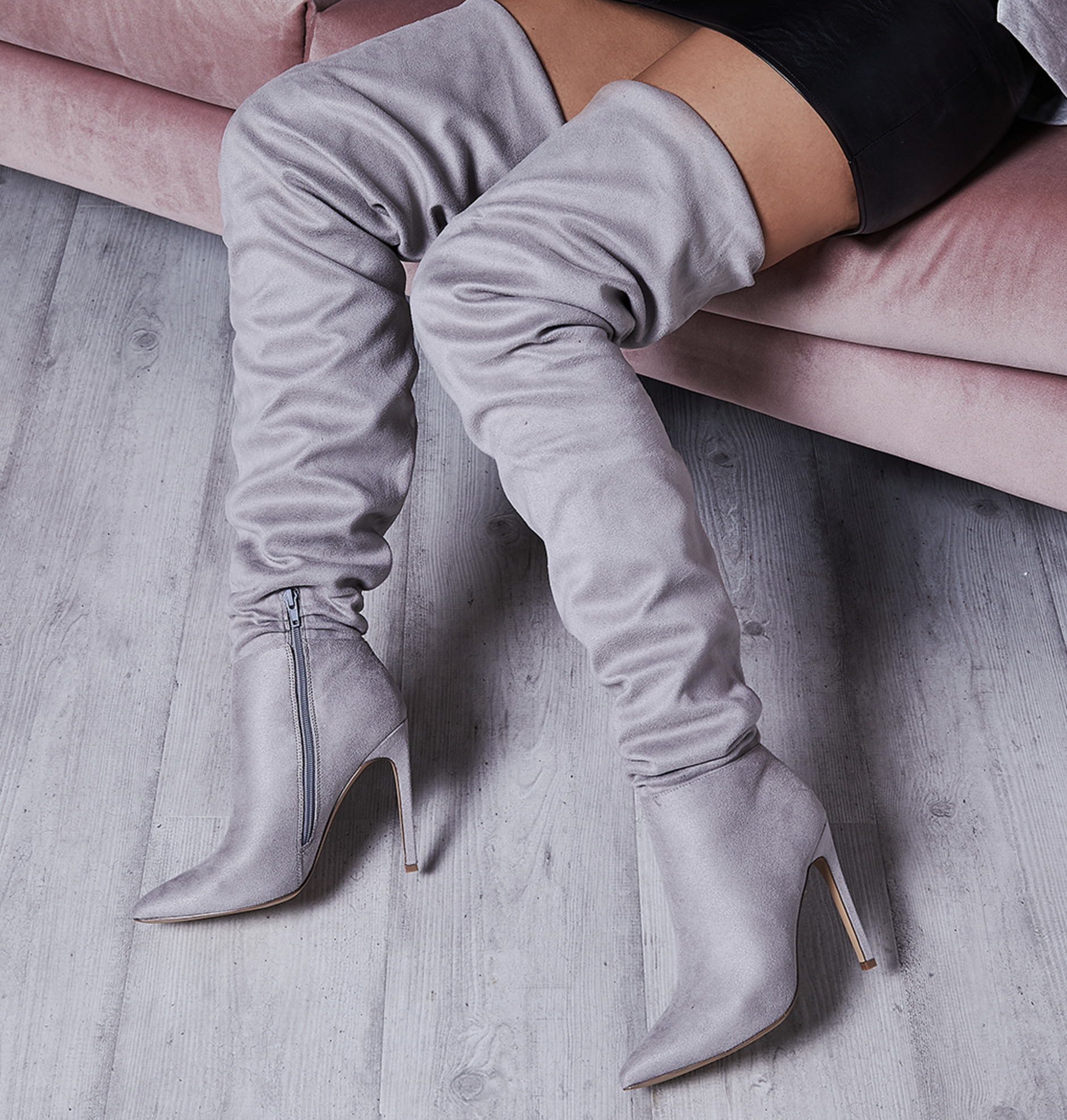 Frances Ruched Long Boot AW