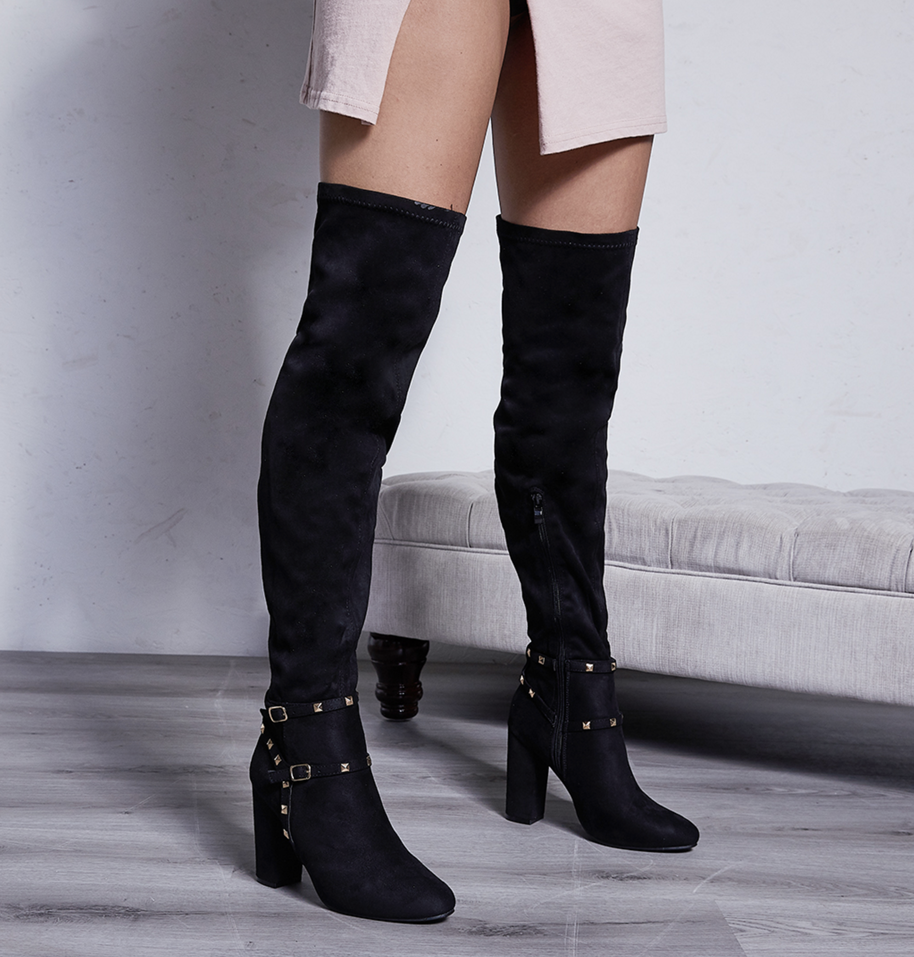 Nexus Block Heel Long Boots