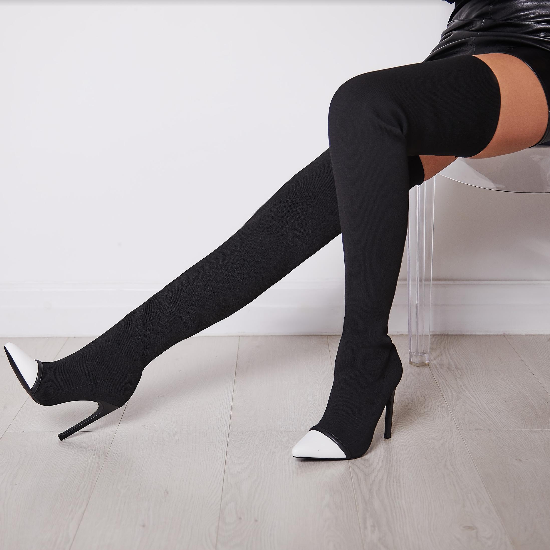 Elsie Over The Knee Long Boot