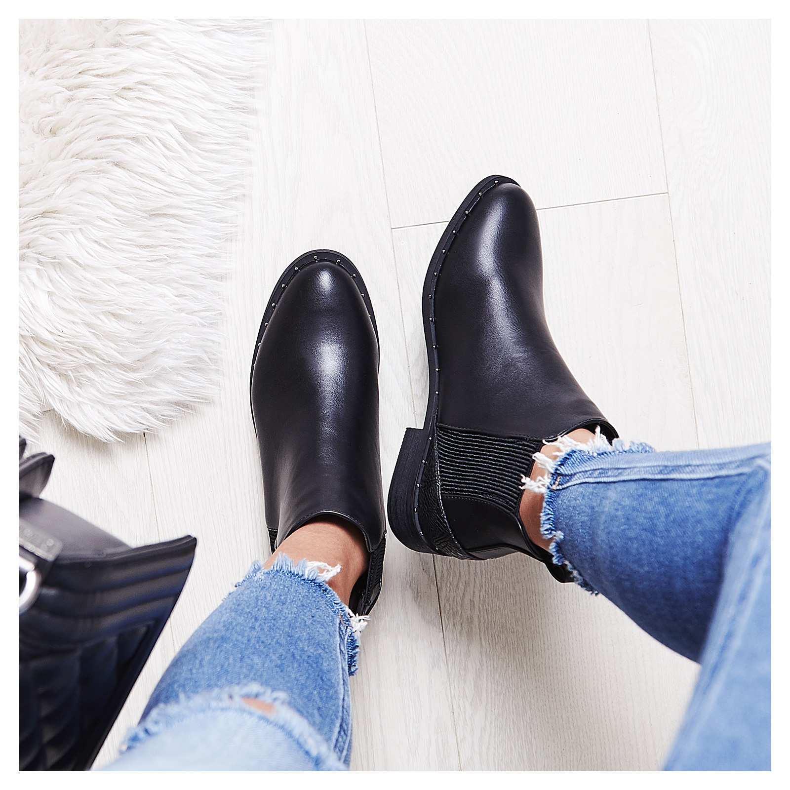 Diaz Studded Chelsea Boot