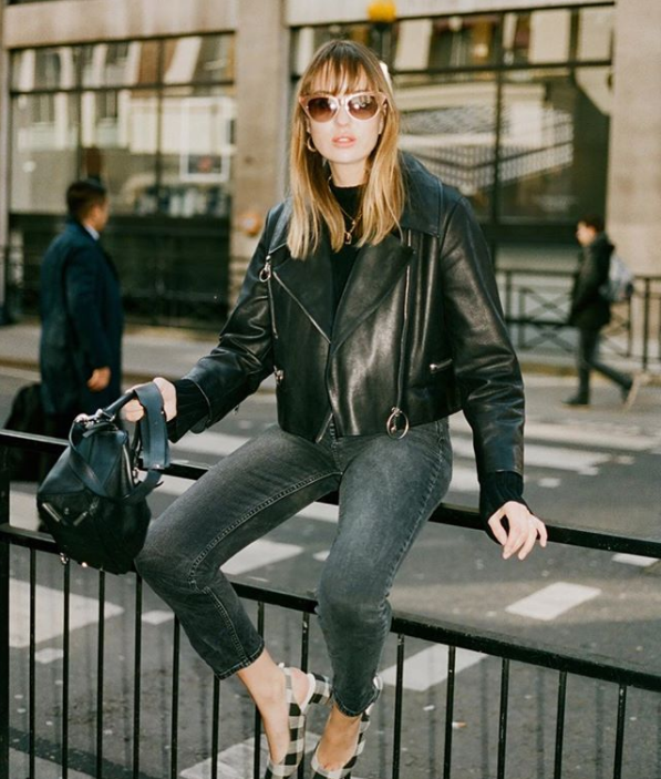 An image of uk fashion blogger Lizzy Hadfield from Shot From The Street