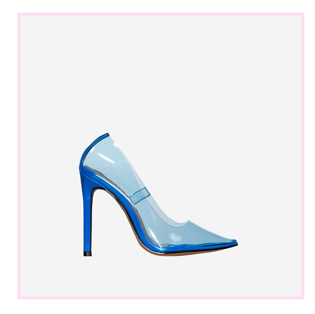 4b460eb84b And it's not just Cinderella that can get away with wearing glass slippers.  These perspex heels in a classic court shape are going to have all the  princes ...