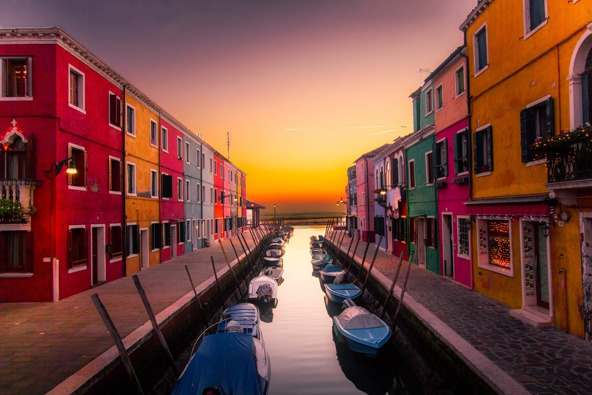 An image of a canal in Europe, a destination many love to travel on their gap years