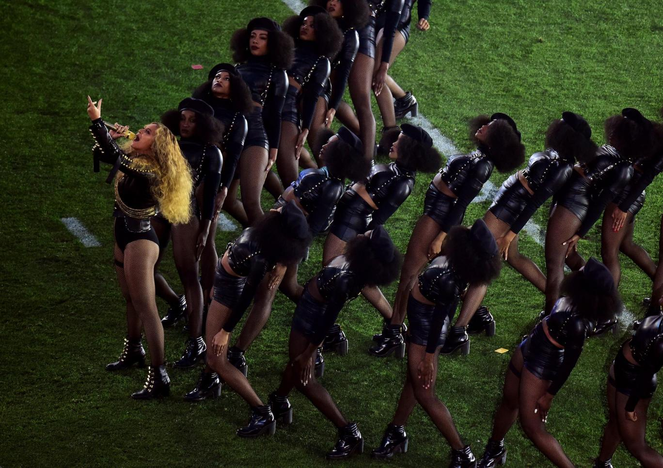 beyonce and the 2016 super bowl sunday