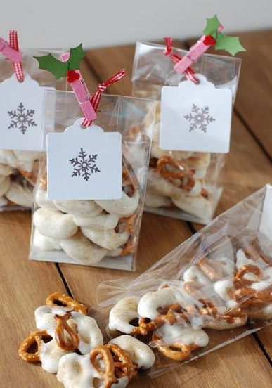 snow covered pretzels,Hello Christmas over eating
