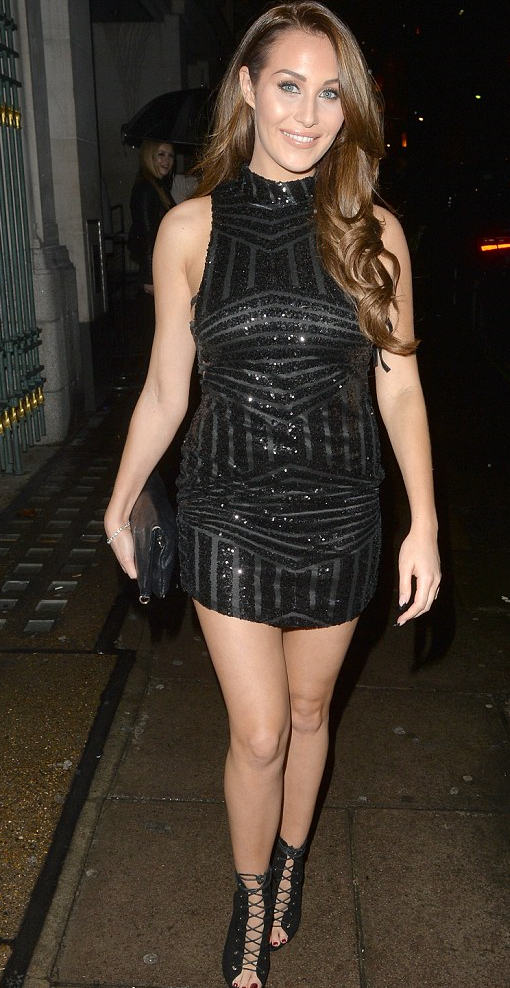 chloe goodman in melina boots by ego
