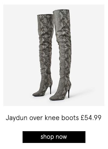 Jaydun over knee boots