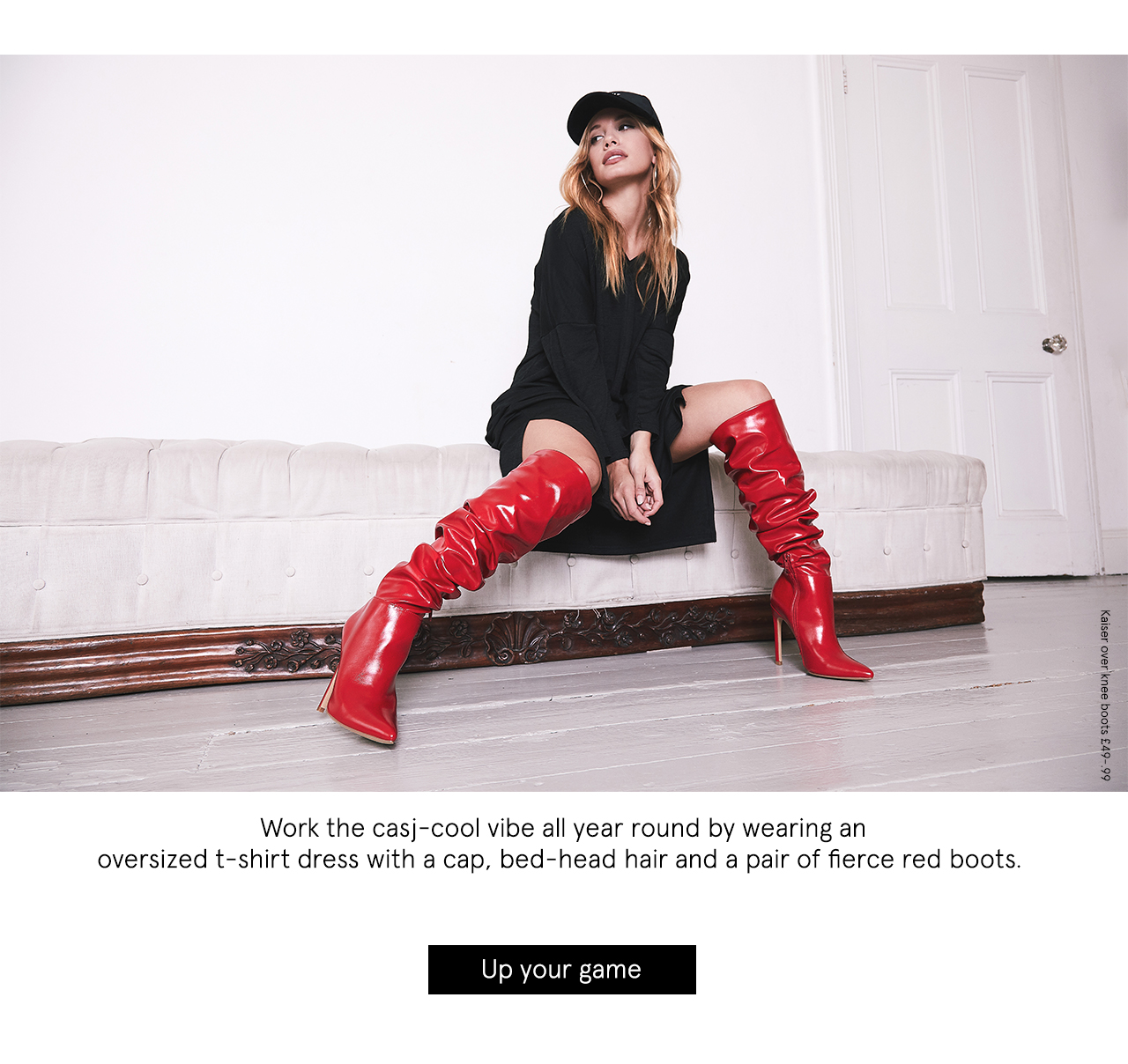 Kaiser over knee boots